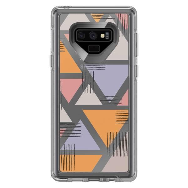 【年終出清 全新品】Samsung Galaxy Note9 OtterBox Symmetry Series Clear 炫彩幾何透明系列 保護殼 【甜蜜三角】 S9+,手機殼,保護殼,軍規,防摔,OtterBox,Samsung,XS,11,Galaxy,
