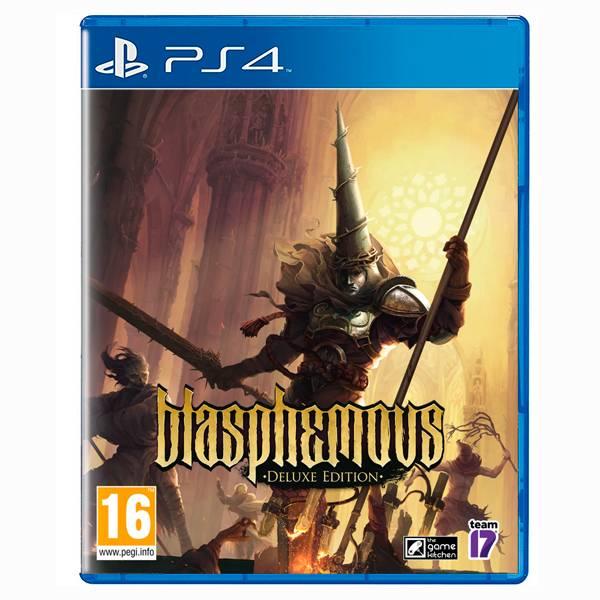 PS4 褻瀆神明 Blasphemous 豪華版 / 簡中英文版 PS4,XBOX,褻瀆神明,豪華版,Blasphemous,簡體中文,橫向2D,像素,解謎,動作
