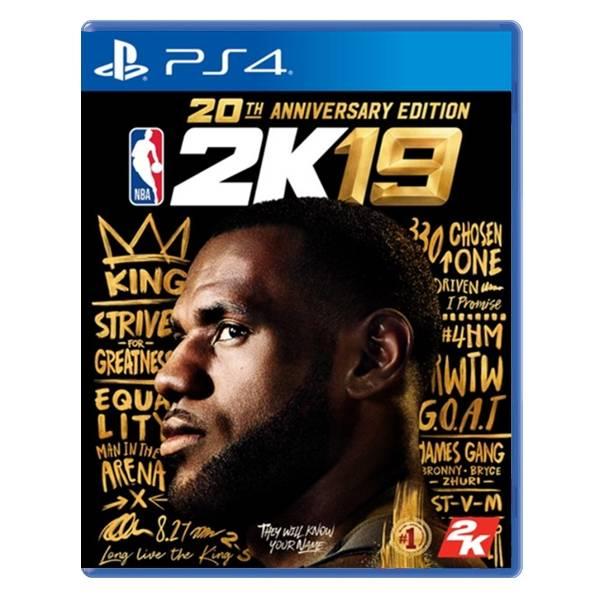 PS4 NBA 2K19  ※ 20週年中文版 ※ 美國職業籃球 PS4,NS,20週年,中文版,美國職業籃球,NBA,2K19,SWITCH,任天堂