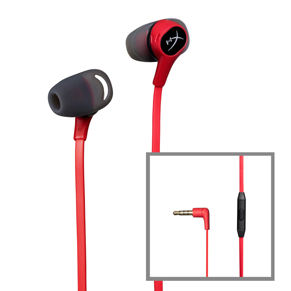 HyperX Cloud Earbuds 入耳式耳機 ※ 支援 NS PS4使用 HyperX,Cloud,Earbuds,入耳式,耳機,電競,任天堂,NS,SWITCH,PS4,金士頓
