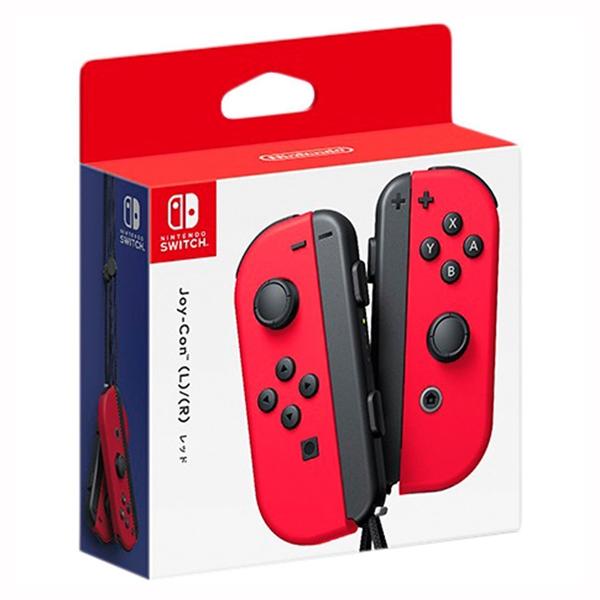 NS Joy-Con 左右手控制器 【紅紅色】一組 無線手把 ※ Nintendo Switch  預購,Nintendo Switch,Switch,Joy-Con,握把,充電,手把,PRO手把,搖桿,NS