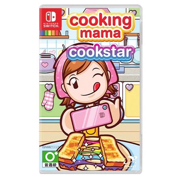 NS 料理媽媽 烹飪之星 妙廚老媽 / 英文版 妙廚老媽,NS,料理媽媽,Cooking Mama: Cookstar,Cooking Mama,Cookstar,烹飪之星