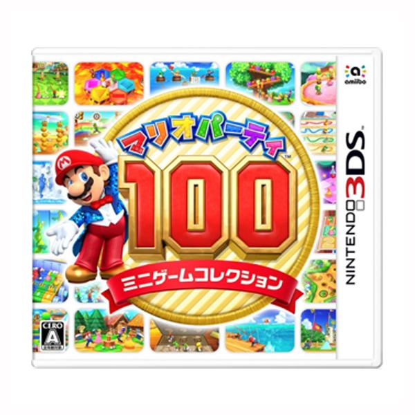 3DS 瑪利歐派對 100 種小遊戲特輯*日版* 3DS,瑪利歐派對,100 種小遊戲特輯,日版,