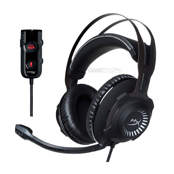 HyperX Cloud Revolver S 杜比7.1虛擬環繞音效電競耳機  HX-HSCRS-GM/AS 耳機,有線,無線,電競,藍芽,杜比,環繞,音效,隨插即用,虛擬環繞