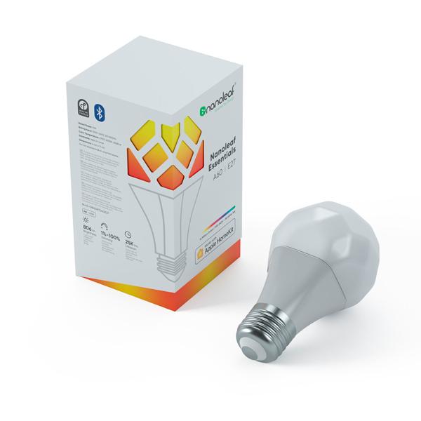 Nanoleaf Essentials A19 E27 / 智能燈泡 / Apple HomeKit / 連接片 / 智慧燈 Nanoleaf,Nanoleaf Essentials,A19,E27,情境燈,Apple HomeKit,Thread,台灣公司貨