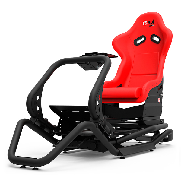 RSEAT N1 黑色 賽車架+賽車椅 / 強化金屬管材 頂級桶椅 / 可升級動態模擬 賽車架,賽車椅,桶椅,鋼管支架,動態模擬,賽車,方向盤,GT,F1