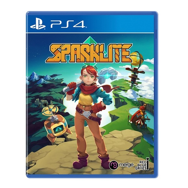 PS4 火花石 國際版 / 中文版 / 預購,PS4,火花石,英文版,國際版,中文版,Roguelite,switch,sparklite,baron