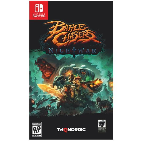 NS 追逐戰 夜戰 ※中文版※ Battle Chasers: Nightwar ※ Nintendo Switch NS,Nintendo Switch,SWITCH,中文版,追逐戰 夜戰,Battle Chasers: Nightwar,追逐戰,夜戰