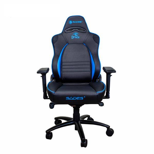賽德斯 SADES DRACO 天龍座-黑藍 人體工學電競椅 賽德斯,SADES,DRACO,天龍座,黑藍,人體工學,電競椅