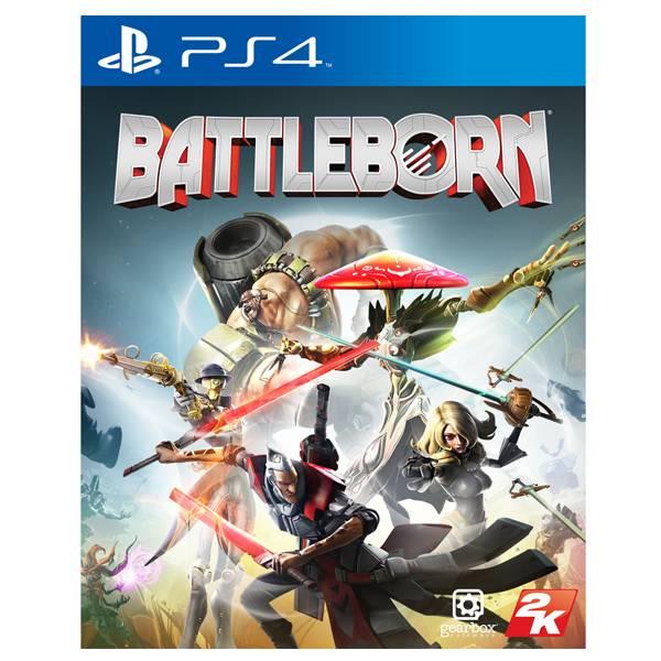 PS4 為戰而生 Battleborn*中文版* 二手,寄賣,中古,MOBA,射擊,PS4,為戰而生,Battleborn,中文版