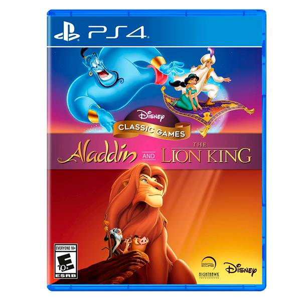 PS4 迪士尼經典遊戲:阿拉丁和獅子王 // 英文版 PS4,NS,百萬,模擬,引勤,農耕,中文版,務農,牧場,預購,農青