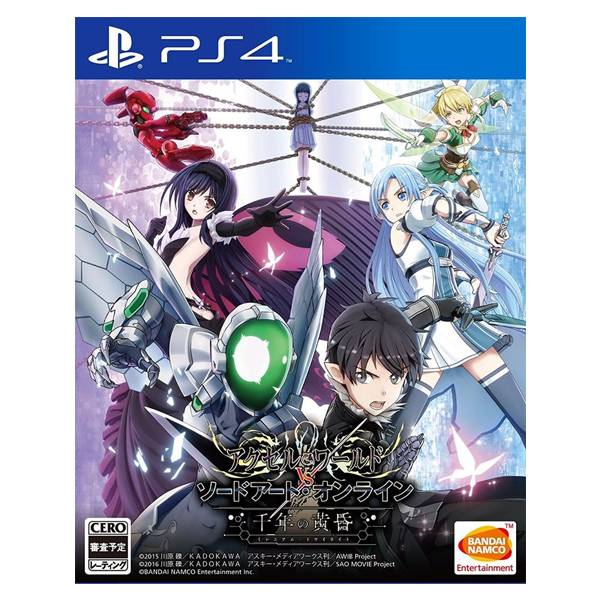 PS4 加速世界 VS 刀劍神域 千年的黃昏*中文版* PS4,加速世界,刀劍神域,千年的黃昏,中文版,Accel World vs. Sword Art Online,Millennium Twilight