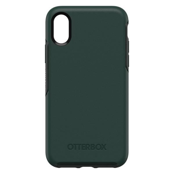 iPhone X / Xs 【全新 福利品】OtterBox Symmetry 炫彩幾何系列 保護殼 【深綠色】 IPhone,手機殼,保護殼,軍規,防摔,OtterBox,X,XS,11,11PRO