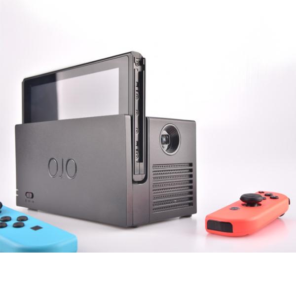 【代購】OJO Switch 攜帶式投影機 +專用保護包 // 適用 NS主機、可外接HDMI 或 Lightning Cable之設備  Nintendo Switch,NS,switch,任天堂,露營,攜帶式投影機,OJO,投影機,底座,行動電源