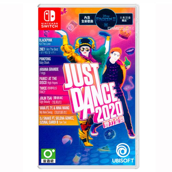 NS Just Dance 舞力全開 2020 / 中文版  預購,PS4,NS,舞力全開,2020,中文版,Just Dance,跳舞,多人