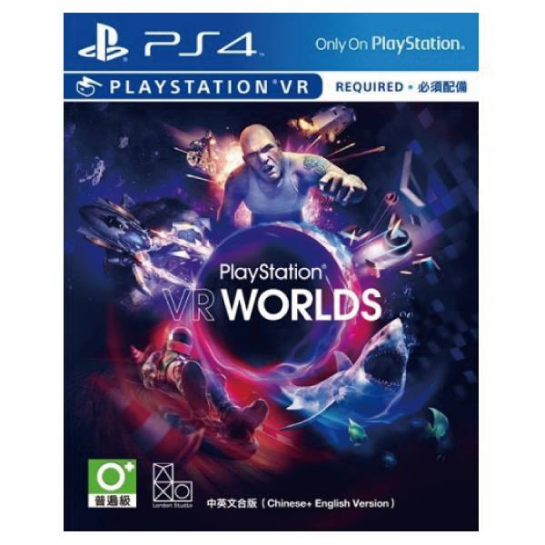 PS4 PlayStation VR WORLDS 世界 VR專用※中文版※ PS4,PlayStation,VR WORLDS,世界,VR專用,中文版,PS VR