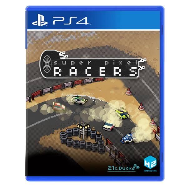 PS4 超級像素賽車 // 中文版 //  Super Pixel Racers PS4,超級像素賽車,復古,16位元,點陣,中文版,Super Pixel Racers