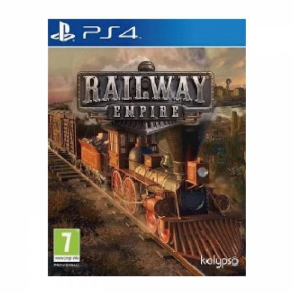 PS4 鐵路帝國※ 簡中英文版 Railway Empire 預購,PS4,鐵路帝國,簡中英文版,Railway Empire