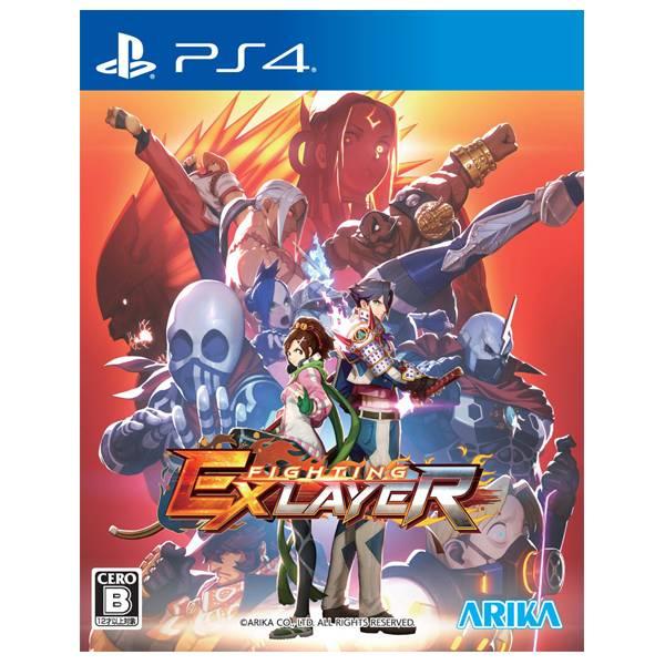 PS4 Fighting EX Layer  // 中文版 //   PS4,Fighting EX Layer,中文版,ARIKA,格鬥,對戰,故事模式,連線