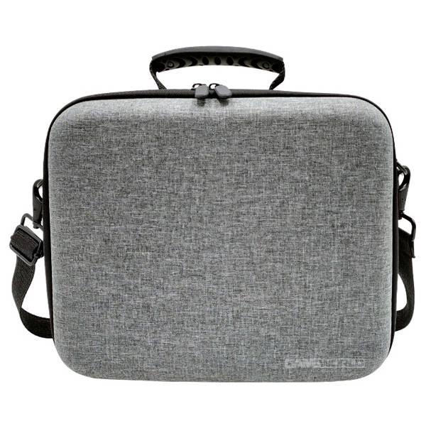 NS 灰色 旅行 硬殼收納 旅行包 / 手提 + 肩背 背包 / 原廠品質 / Nintendo Switch NS,任天堂,Nintendo Switch,Switch,硬殼包,大容量,攜帶,旅行包,主機收納,保護包