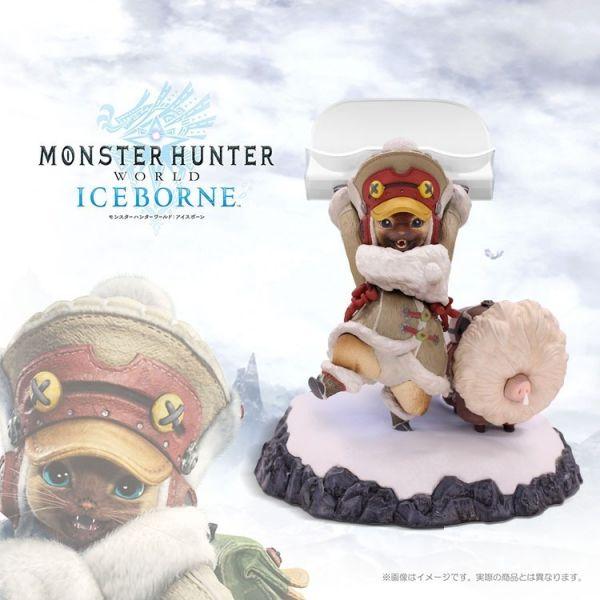 PS4 魔物獵人:Iceborne 隨行艾路支架 彩色版公仔 / MHW 公仔,艾路,隨行支架,魔物獵人,iceborne,魔物獵人世界,支架,貓,手把支架,PS4