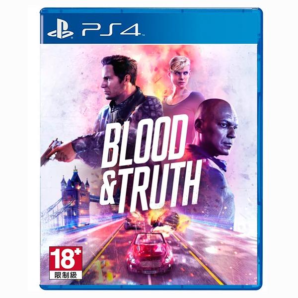 PS4 Blood & Truth VR / 中文版 / VR專用 預購,PS4,VR,射擊,Blood&Truth,PS Move,The London Heist,中文版,PlayStation,SONY