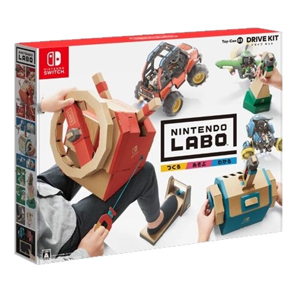 Nintendo LABO 任天堂實驗室 DRIVE KIT Toy-con03 / 亞中版 / Nintendo Switch NS,任天堂,LABO,DRIVE,VARIETY,Toy-con,NINTENDO LABO,NINTENDO,NS LABO