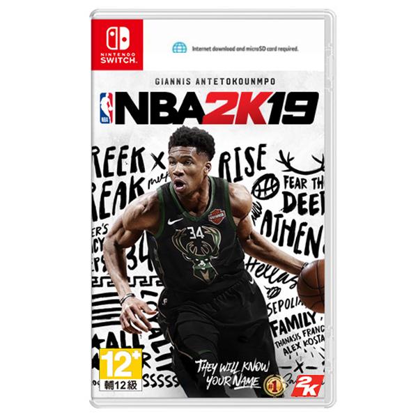 NS NBA 2K19 // 中文 一般版 // 美國職業籃球 2019 // Nintendo Switch PS4,NS,NBA 2K19,中文版,美國職業籃球,NBA,2K19,SWITCH,任天堂