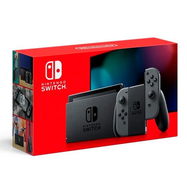 【續航加強款】任天堂 NS 主機 灰灰色手把 台灣代理公司貨  Nintendo Switch 任天堂,SWITCH,NINTENDO,NS,Nintendo SWITCH,公司貨,台灣,代理,switch 主機,主機