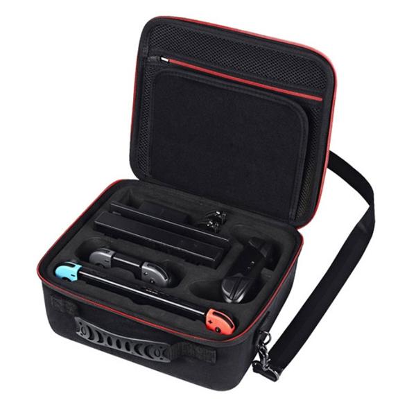 NS 良值 IINE 二代 旅行 硬殼收納 旅行包 // 手提 + 肩背 背包 // 原廠品質 // Nintendo Switch 良值,NS,任天堂,Nintendo Switch,Switch,硬殼包,大容量,攜帶,旅行包,主機收納,保護包