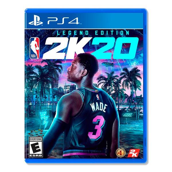 PS4 NBA 2K20  傳奇版 / 中文版 PS4,NS,運動,中文版,動作,籃球,2K20,角色扮演,球類