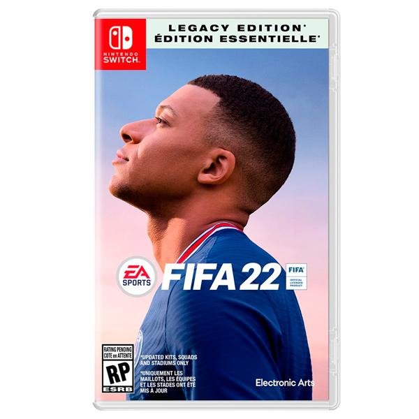 【預購】NS FIFA 22 / 中文 遺產版 PS4,PS5,NS,XSX,FIFA22,中文版,國際足盟大賽 22,足球,歐盟