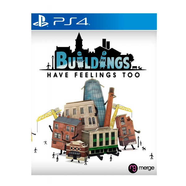 PS4 建築也有感情  / 國際版 / Buildings Have Feelings Too 預購,NS,建築,角色扮演,動腦,營業,思考,Games,推理,建造