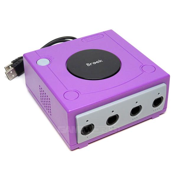 NS 主機用 GC 控制器連接器 // 手把擴充插槽  // Brook GameCube 超級轟炸人 // Nintendo Switch NS,主機,GC 控制器,連接器,手把擴充,插槽,GameCube,超級轟炸人,Nintendo Switch