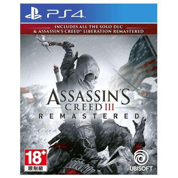 【二手】PS4 刺客教條3 * 中文重製版 * 預購,PS4,刺客教條 3 重製版,中文版,Assassin's Creed III Remastered,刺客教條,重製版,Assassin's Creed,Remastered,大革命