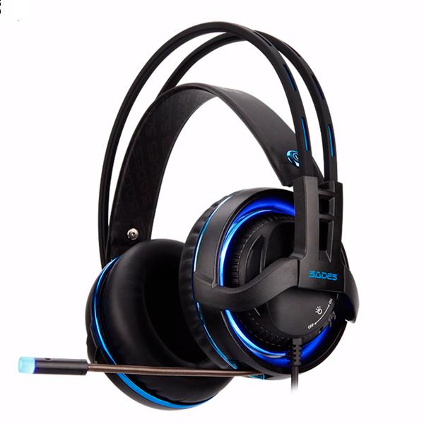 賽德斯 SADES DIABLO 暗黑鬥狼RGB USB電競 耳機麥克風 賽德斯,SADES,DIABLO,暗黑鬥狼,RGB,電競,耳機,麥克風