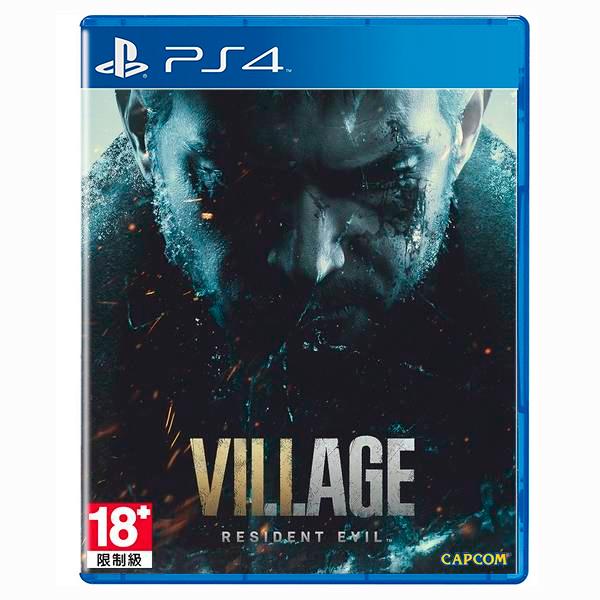 PS4 惡靈古堡 8 村莊 / 中文版 PS4,PS5,惡靈古堡,里維,惡靈古堡8,中文,克里斯,惡靈古堡7,村莊,預購