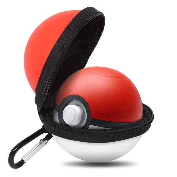 NS 精靈球 Plus 專用 保護包 EVA 硬殼包 // 精靈寶可夢 Let's Go!皮卡丘 / 伊布 // Nintendo Switch NS,HORI,皮卡丘,伊布,精靈寶可夢,Let's GO,精靈球,Plus,保護包,硬殼包