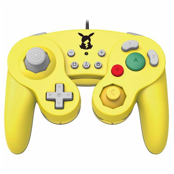NS 復古 GameCube 有線手把 // NGC // 皮卡丘 黃色 // Nintendo Switch NS,任天堂,GameCube,NGC,Switch,復古,手把,HORI,PC,皮卡丘