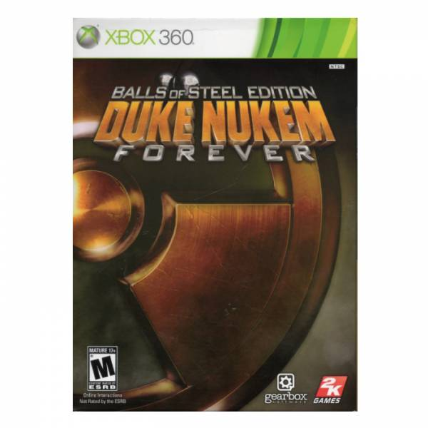 X360 永遠的毀滅公爵 鐵膽限定版*亞英版*Duke Nukem Forever X360,永遠的毀滅公爵,鐵膽限定版,亞英版,Duke Nukem Forever,XBOX360,微軟