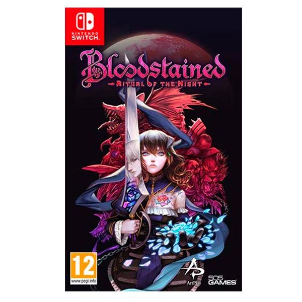 NS 血咒之城 暗夜儀式 / 中英日文合版 / Bloodstained 預購,NS,血咒之城,暗夜儀式,英文版,Bloodstained,Nintendo Switch