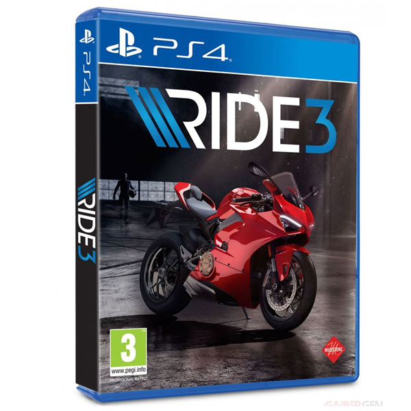 PS4 Ride 3  // 亞英版 //   PS4,RIDE3,亞英版,摩托車,競速,3D,重機