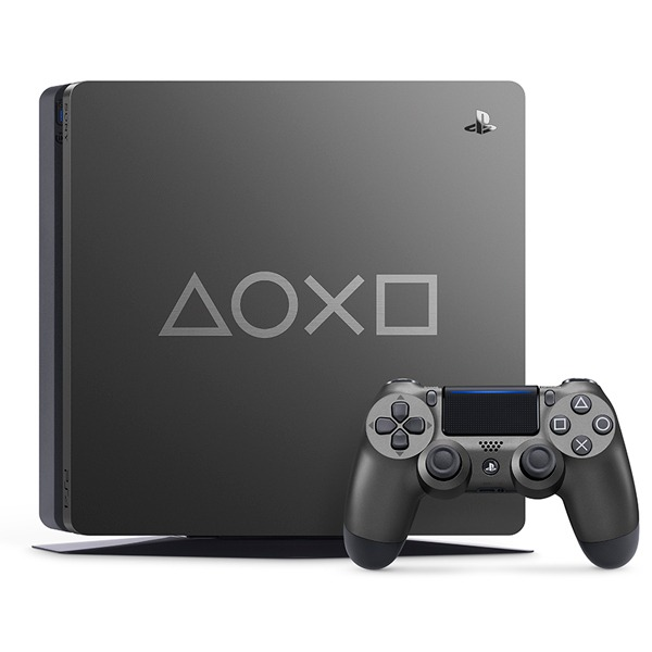 【特飾款】薄型 PS4 Slim 1TB 主機 / Days of Play Limited Edition  PS4,SLIM,新款,薄型,CUH-2017,CUH-2000,主機,2000型,Days of Play Limited Edition,鋼鐵灰,特仕