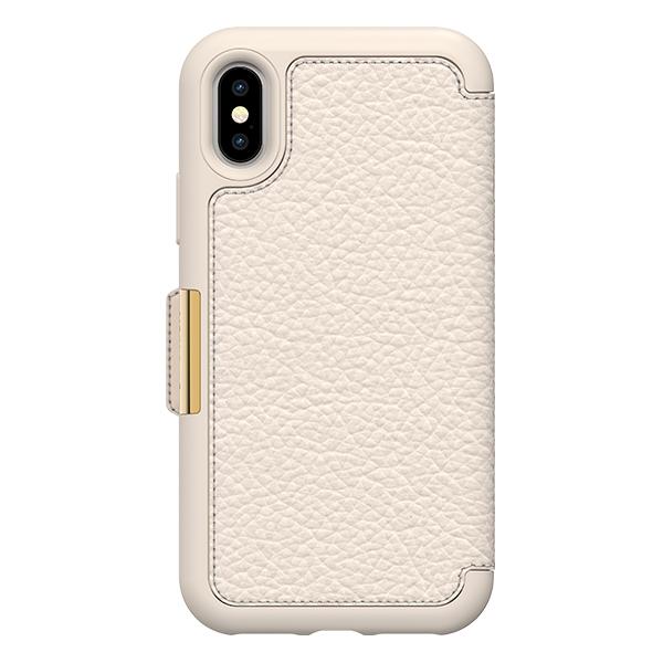 【年終出清 全新品】iPhone X / Xs OtterBox Symmetry Leather Folio 真皮 保護殼【米白】 IPhone,手機殼,保護殼,軍規,防摔,OtterBox,X,XS,11,11PRO