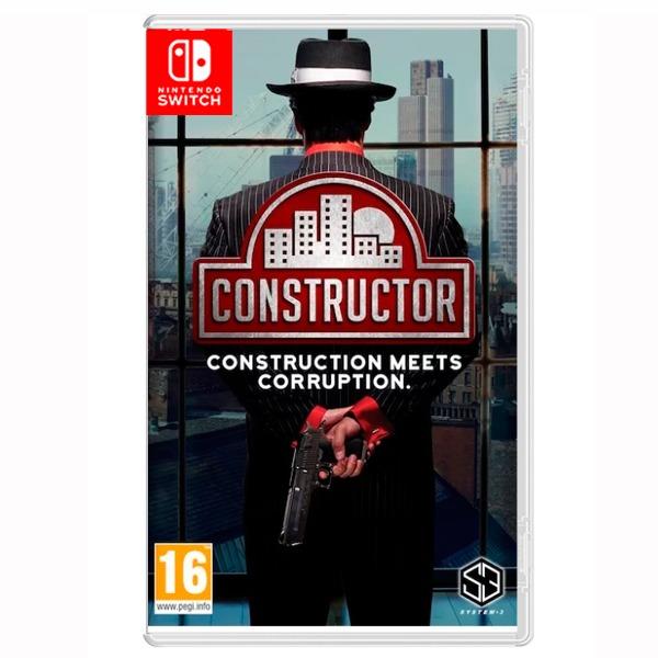 NS 建造者 Plus / 簡體 中文版  預購,NS,建造者 Plus,建造者,經營,建設,城市,養成