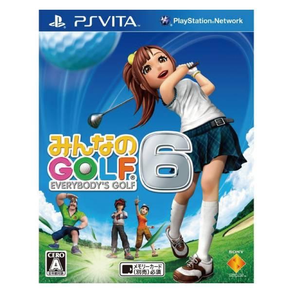 PSV 全民高爾夫 6 ※日文版※ Everybody's Golf 6 PSV,全民高爾夫 6,日文版,Everybody's,Golf 6,全民高爾夫