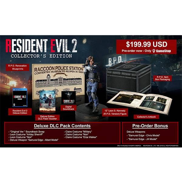 PS4 惡靈古堡 2 重製版 ※ 典藏版 中文版 ※ Resident Evil 2 PS4,惡靈古堡 2,重製版,中文版,Resident Evil 2,惡靈古堡,BIO,典藏版,限定版