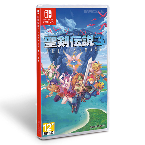 NS 聖劍傳說 3 TRIALS of MANA 重製版 / 中文版 NS,PS4,聖劍傳說,TRIALS of MANA,重製版