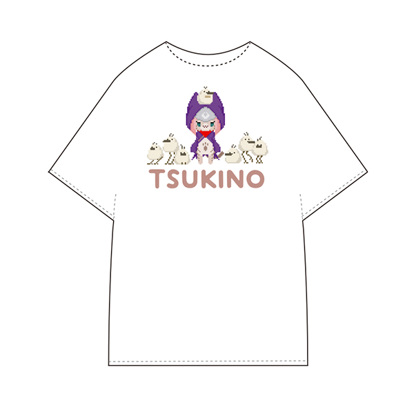 【預購】魔物獵人 物語 2:破滅之翼 / 月路 T-Shirt 白色 魔物獵人物語 2,破滅之翼,月路,T-Shirt,衣服,小包包,正版,授權,周邊