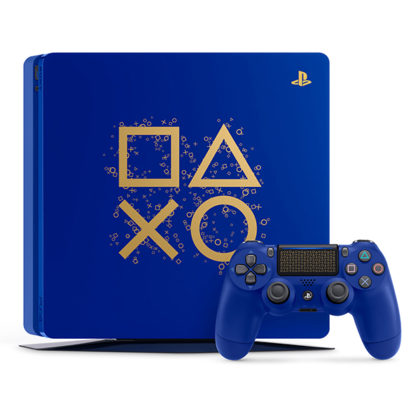 PS4 主機 ※ 限量特飾版 ※ Slim 500G ※Days of Play Limited Edition  PS4,SLIM,新款,薄型,CUH-2017,CUH-2117ABZN,主機,Days of Play Limited Edition
